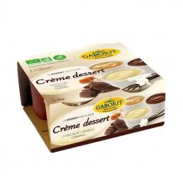 CREME DESSERT 2 CHOCO VANIL CARAM 4X100G