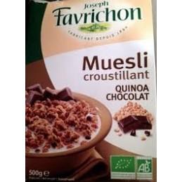 CROSTOLA QUINOA CHOCOLAT