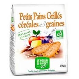 PETITS PAINS GRILLES GRAINES CEREALES