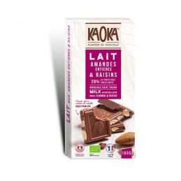 Chocolat Lait 38% Amandes...