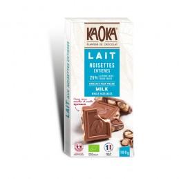 Chocolat Lait 38% Noisettes...