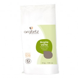 Argile Verte Concassee 3kg