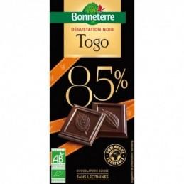 Chocolat Noir 85% Togo 80g