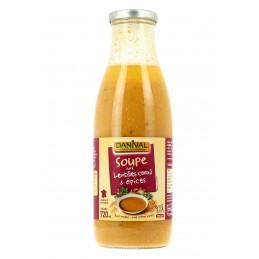 Soupe Lentilles Corail &...