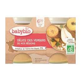 Ppot Delice Fruits 2x130g