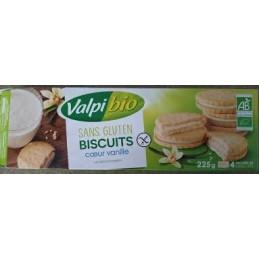 Biscuits Coeur Vanille 225g Ns
