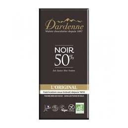 Chocolat Noir 50% Cacao 100g