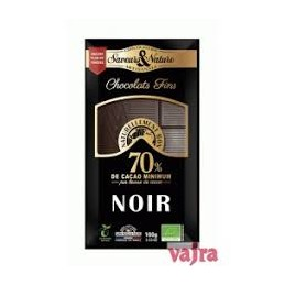 Chocolat Noir 70 %cacao 100g