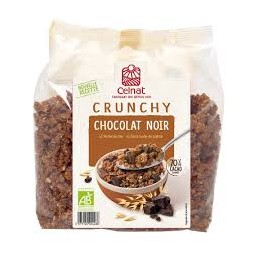 Crunchy Chocolat Noir 500g