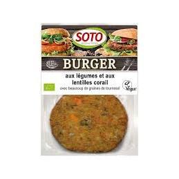 Burger Legumes Lentilles...