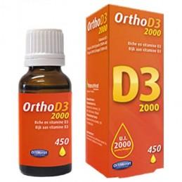 Vitamine D3 2000ui