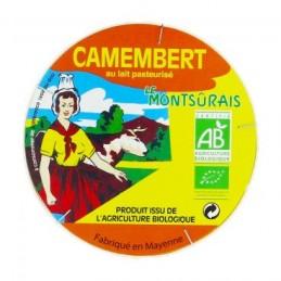 Camembert Montsurais 250g