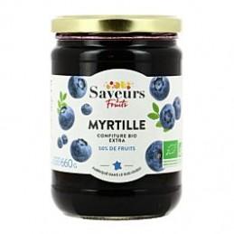 Confiture Myrtilles Bio 660g