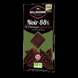 Chocolat Noir 88% Sucre De...