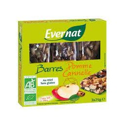 Barre Pomme Cannelle 75g